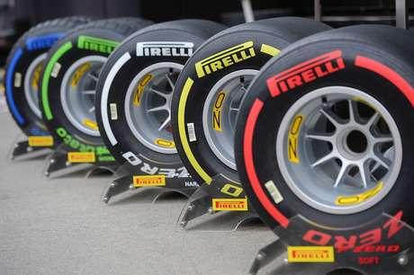 C1 mais duro e C5 mais macio: Pirelli revela o 'Delta T' entre os compostos de 2019