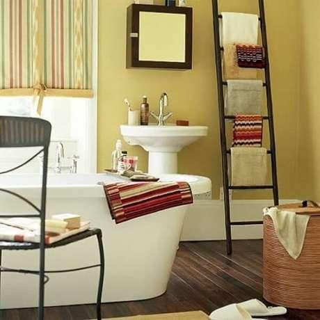 Banheiro pequeno decorado veja 70 ideias e invista nos for Scaletta decorativa