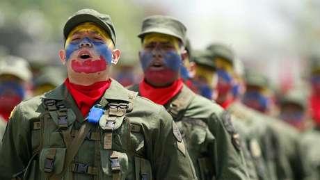 Guaidó, autoproclamado presidente interino da Venezuela, pediu apoio dos militares
