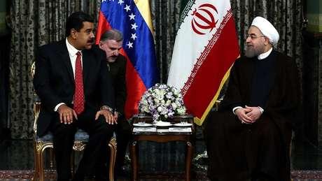 Maduro e Rohan herdaram uma boa relação entre seus países dos antecessores Chávez e Ahmadinejyd
