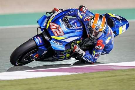 Pré-temporada da MotoGP: No Catar, Alex Rins lidera o segundo dia para a Suzuki; Marc Marquez em quinto