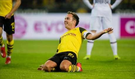 d90823b914 Mario Gotze marcou um dos gols da partida.