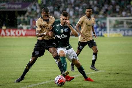 Palmeiras e Santos ficam no 0 a 0 pelo Campeonato Paulista