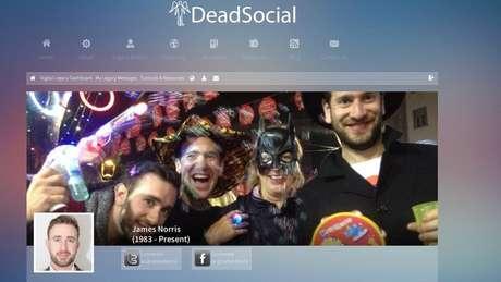 James Norris criou a DeadSocial em 2012 para administrar 'legados digitais'
