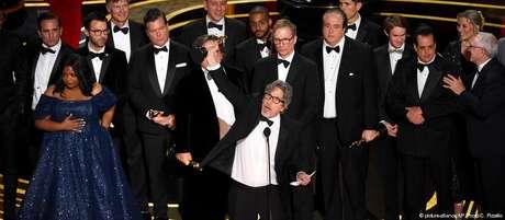 Farrelly recebe o Oscar de melhor filme