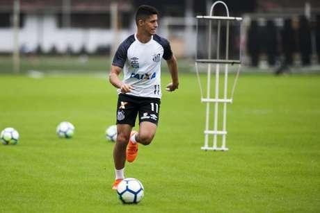Daniel Guedes não será jogador do Goiás nesta temporada (Foto: Ivan Storti/Santos)