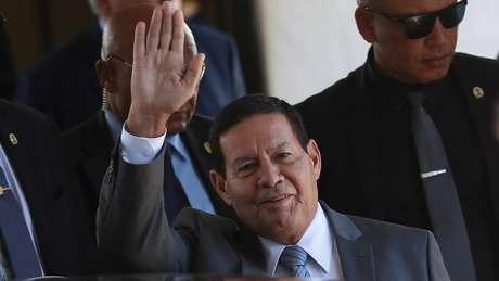 'O Brasil acredita firmemente que é possível devolver a Venezuela ao convívio democrático das Américas sem qualquer medida extrema', disse vice-presidente do Brasil, Hamilton Mourão, em reunião do Grupo de Lima, na Colômbia