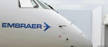 A brasileira Embraer é a terceira maior fabricante de aviões do mundo