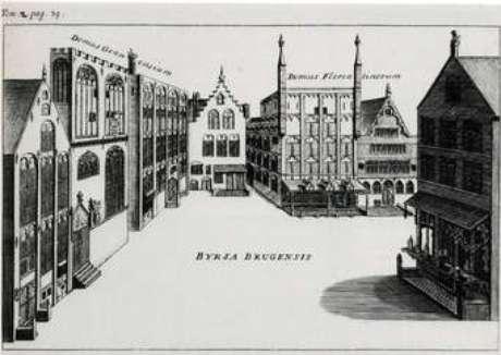 A bolsa de Bruges
