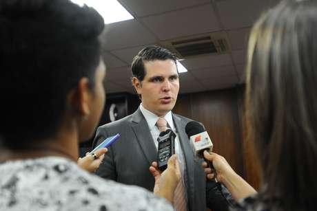 O presidente da Alesp, Cauê Macris (PSDB)