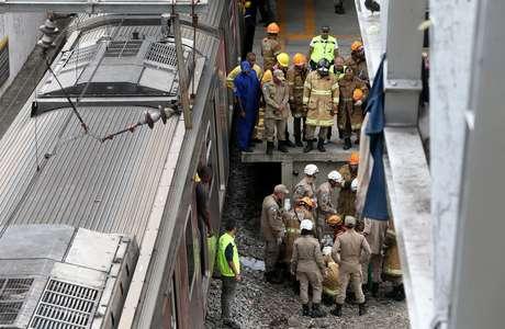 Colisão de trens no Rio de Janeiro deixou um morto e oito feridos