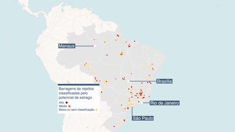 Fonte: Agência Nacional de Mineração, Agência Nacional de Águas. Mapa criado com Carto