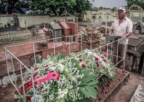 Atenagos Moreira de Jesus só ficou sabendo que seu amigo estava entre as vítimas no dia do seu enterro