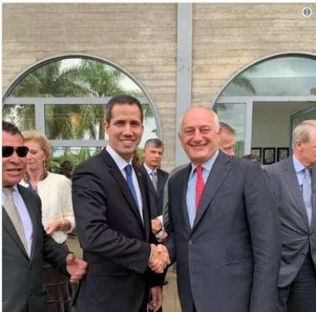 Embaixador da Itália no Brasil se reúne com Guaidó