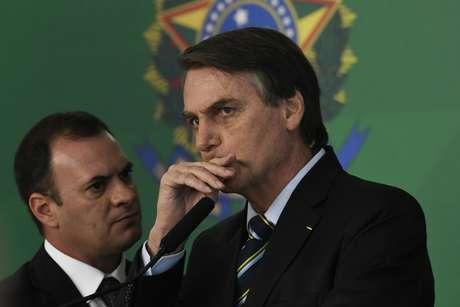 O Presidente da República brasileiro, Jair Bolsonaro (PSL)