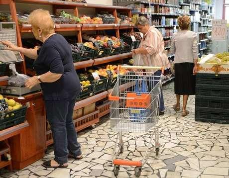 Inflação na Itália registra alta impulsionada por alimentos
