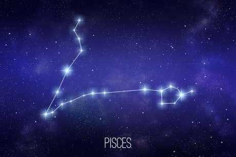 Constelação do zodíaco de Peixes