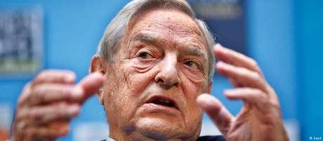 Filantropo e bilionário húngaro-americano George Soros