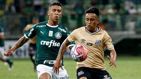 Santos empatou no último jogo do Paulistão contra o Palmeiras, em 0 a 0 (Luis Moura / WPP)