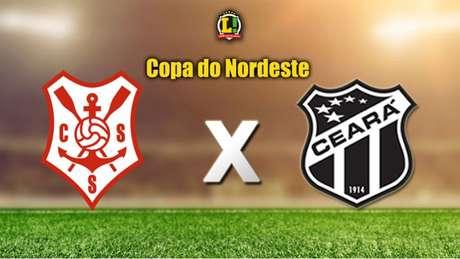 Apresentação COPA DO NORDESTE: Sergipe x Ceará