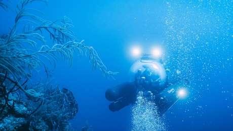 Exploradores dizem que o Buraco Azul está bem preservado