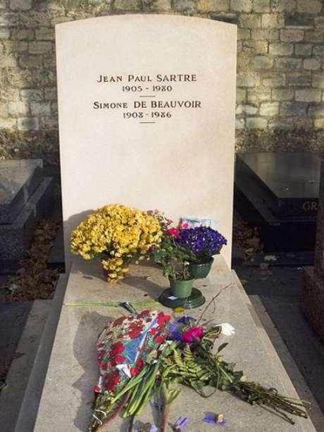 Sartre y de Beauvoir, unidos aún después de la muerte.