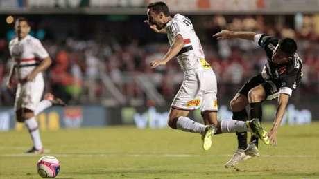 No Morumbi, São Paulo venceu o Bragantino por 1 a 0 no Paulistão de 2018 - FOTO: Marcello Zambrana/AGIF