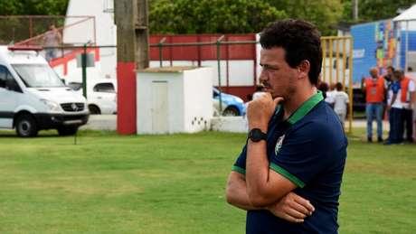 Fernando Diniz tem limitações no Fluminense (Foto: MAILSON SANTANA/FLUMINENSE FC)