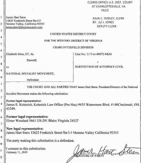 Documentos judiciais atestam as primeiras mudanças promovidas por Stern