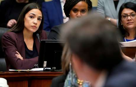 A democrata Alexandria Ocasio-Cortez