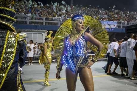 A Rainha de Bateria da Vai Vai, Camila Silva