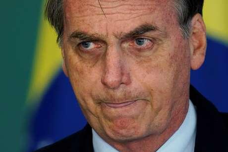 Presidente Jair Bolsonaro 21/02/2019 REUTERS/Ueslei Marcelino