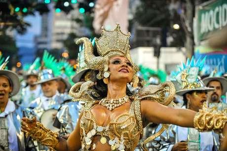 Camila Silva, rainha da Mocidade.