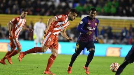 Malcom esteve em campo, mas não evitou derrota do Barça (Foto: Divulgação)