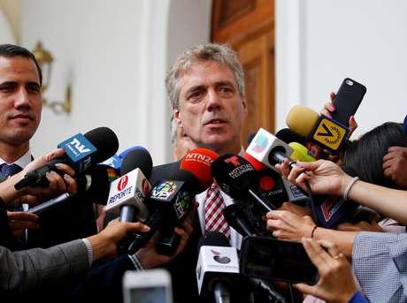 Embaixador alemão na Venezuela, Daniel Martin Kriener