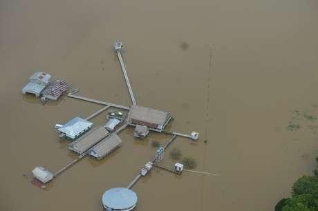 Base da Funai no rio Ituí; órgão diz que quadrilhas profissionais atacaram o local quatro vezes nos últimos 14 meses
