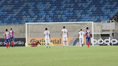 Gilberto fez o gol da vitória do Bahia na Copa do Brasil