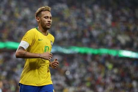 Neymar é um dos maiores artilheiros da história da Seleção Brasileira (Foto: Lucas Figueiredo/CBF)