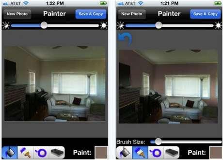 46- O Paint Tester está disponível apenas em inglês, para iOS e Android.
