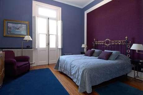 11- Outra combinação de cores de tintas de parede frias, projeto de Estúdio Sespede Arquitetos.