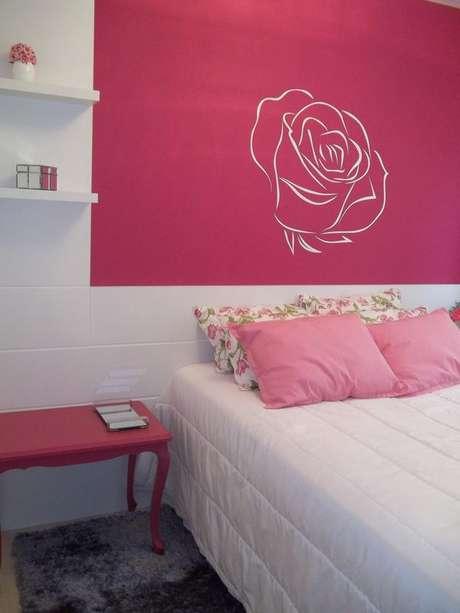 30- As cores de casas em tons rosados podem aparecer em detalhes que podem ser mudados depois. Projeto de Leticia Almeida.