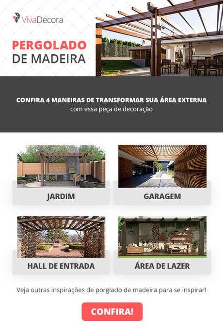 18. Infográfico – Pergolado de Madeira