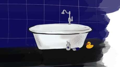Una bañera