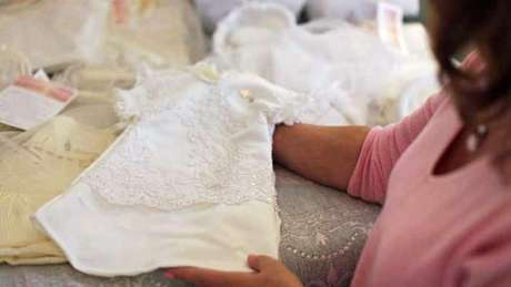 Un vestido de un bebé