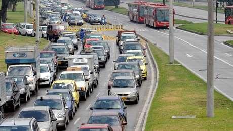 As cidades com mais congestionamento no mundo são Moscou, Istambul e Bogotá, segundo estudo da INRIX