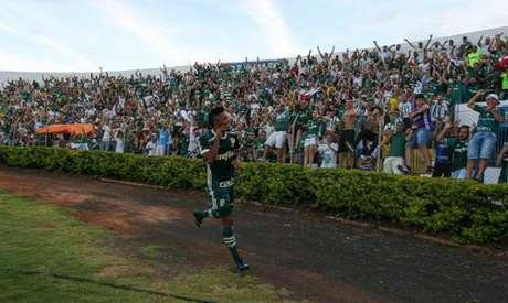 No último confronto diante do Mirassol, o Palmeiras venceu por 2 a 0, no ano passado, com gol de Borja (Cesar Greco)