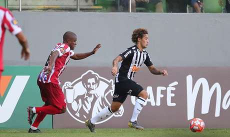 Guga deve começar o jogo pelo Mineiro, tendo mais uma chance de mostrar o seu futebol para Levir Culpi- Divulgação Twitter Atlético MG