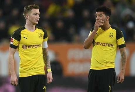 Dortmund está em queda livre na temporada (Foto: AFP)