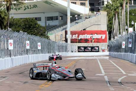 GP de São Petersburgo: Penske domina a primeira fila; Power na pole seguido por Newgarden