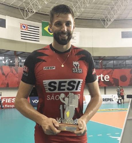 Gustavão foi o melhor do jogo (Amanda Demétrio/Sesi)